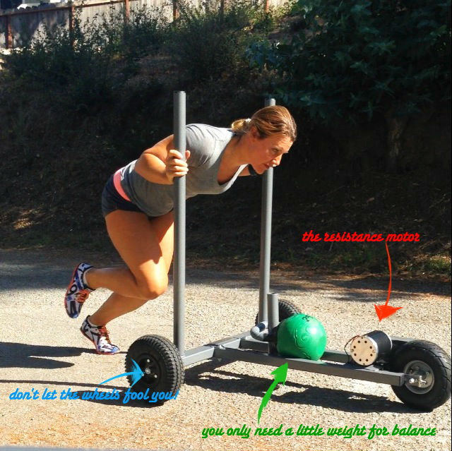 My New Sled Eva T Strength Conditioning
